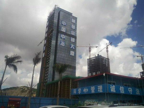 中*中冶横琴总部大厦项目,淞江内外压平衡波纹补偿器,上海内外压平衡波纹补偿器