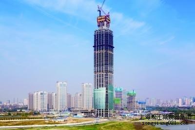 上海淞江减震器制造有限公司中标武汉中心项目淞江*橡胶接头产品!