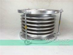 DN350波纹补偿器生产厂家|上海淞江不锈钢波纹管补偿器
