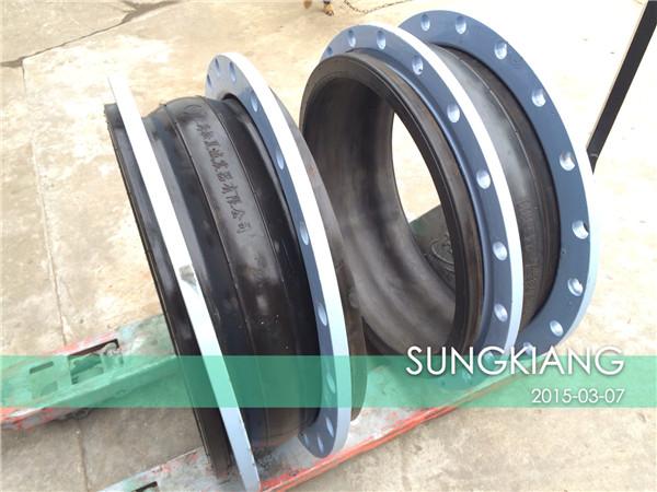 嘉兴污水处理厂可曲挠橡胶接头发货|嘉兴橡胶接头|污水处理橡胶接头|橡胶接头发货