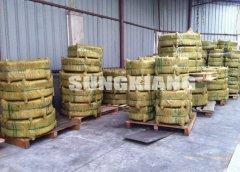纤维行业橡胶接头发往江苏项目